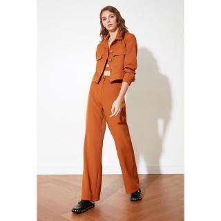 Trendyol Camel Basic Pants dámské 36