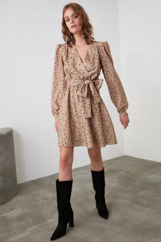 Trendyol Camel Belt Cruise Dress dámské 38