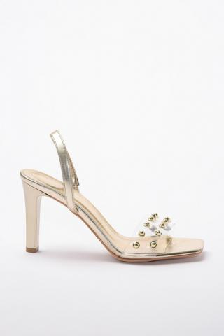 Trendyol Gold StapleS Detailed Womens Classic Heels dámské 39