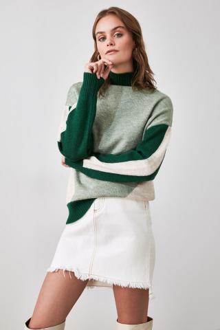 Trendyol Green Knitwear Sweater dámské M