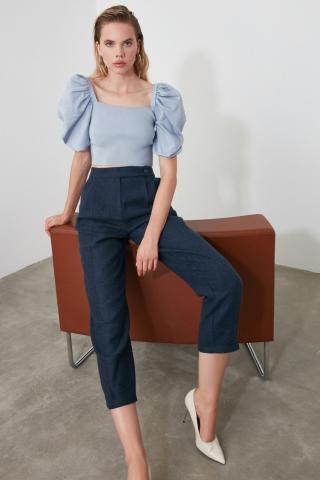 Trendyol Indigo Basic Pants dámské 36