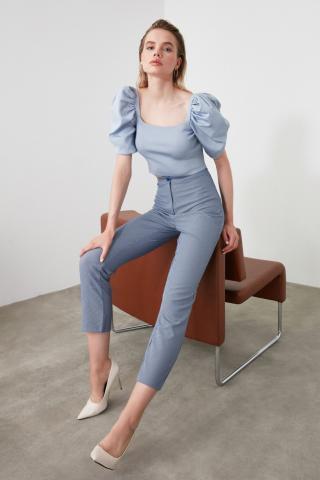 Trendyol Indigo Basic Pants dámské 38