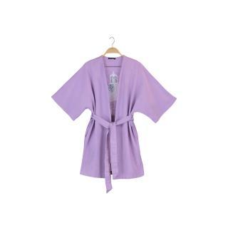 Trendyol Lilac Embroidered Kimono & Kaftan dámské S