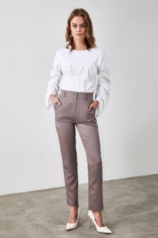 Trendyol Mink Basic Pants dámské 34