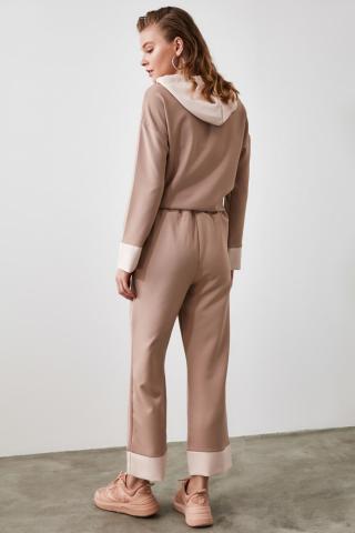 Trendyol Mink Flat Cut Pants dámské 34