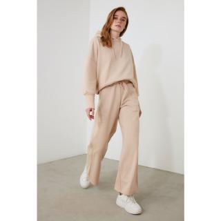 Trendyol Mink Wide Leg Knitted Tracksuit bottom dámské S