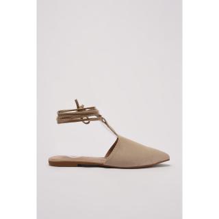 Trendyol Mink Womens Flat Shoe dámské 36