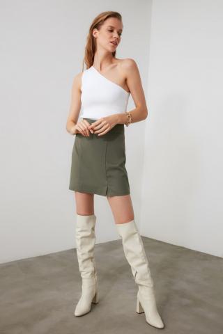 Trendyol Mint Straight Cut Skirt dámské 34