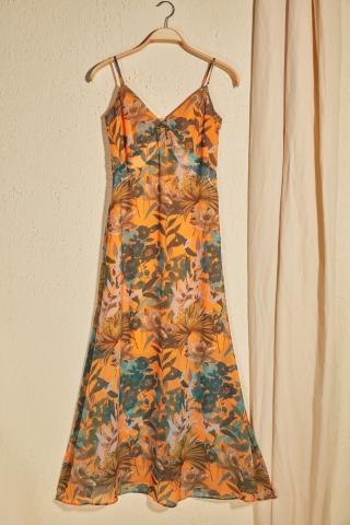 Trendyol Multi-Color Floral Patterned Dress dámské 34