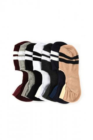 Trendyol Multi-Coloured Mens 7 Pack Suba Socks Socks pánské One size