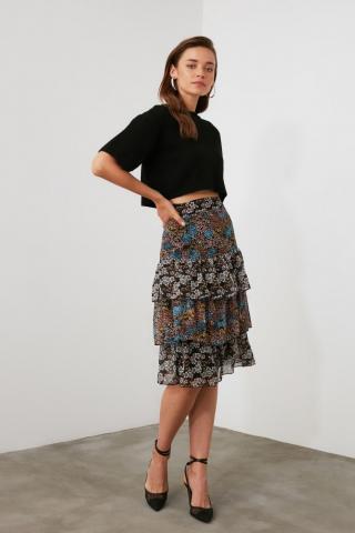 Trendyol Multicolor Flywheel Skirt dámské 34