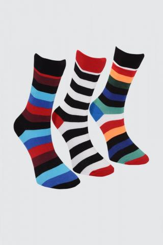 Trendyol MultiColor Mens 3 Pack Socket Socks pánské One size