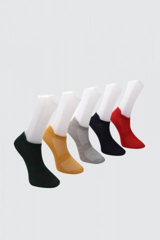 Trendyol Navy 5 Pack Sports Socks Socks dámské One size
