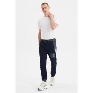 Trendyol Navy Blue Mens Sweatpants pánské M