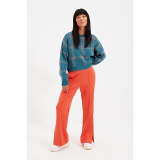 Trendyol Oil Grid Patterned Knitwear Sweater dámské Other M