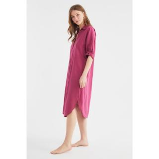 Trendyol Plum Beach Dress dámské Damson 34