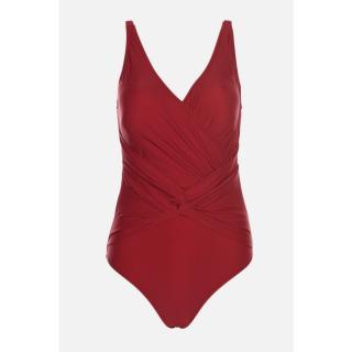 Trendyol Plum Gathered Detailed Swimsuit dámské Damson 38