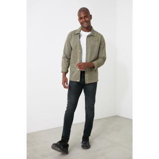 Trendyol Skinny Fit Jeans with Black Male Destroy 34