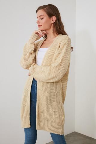 Trendyol Stone Knitwear Cardigan dámské S