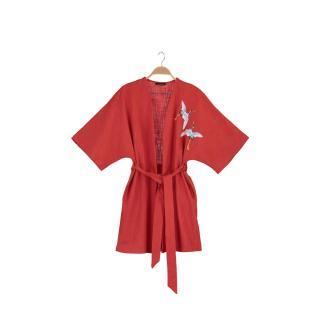 Trendyol Tile Embroidered Kimono & Kaftan dámské TİLE S