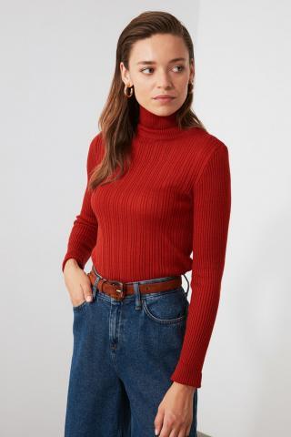 Trendyol Tile Turtleneck Knitwear Sweater dámské S