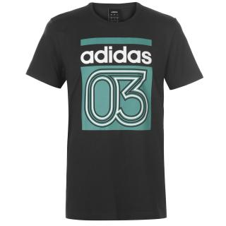 Triko adidas Lin03 Tee QT93 pánské No color | Other | Blk XXL