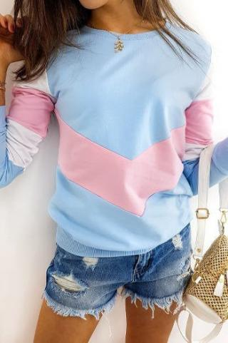 TRIOFLEX womens blue sweatshirt BY0367 dámské Neurčeno One size