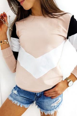 TRIOFLEX womens sweatshirt pink BY0368 dámské Neurčeno One size