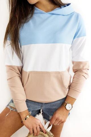 TRIOHOOD womens sweatshirt blue BY0372 dámské Neurčeno One size