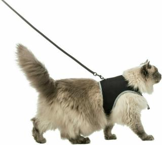 Trixie Soft Cat Harness With Leash Postroj s vodítkem pro kočky 120 cm