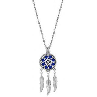 Troli Multifunkční ocelový náhrdelník Lapač snů s vyměnitelným středem 132462