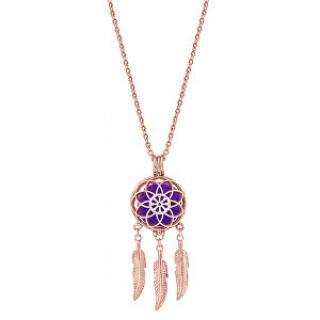 Troli Multifunkční pozlacený náhrdelník Lapač snů s vyměnitelným středem 132462D