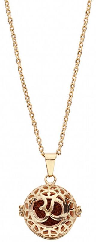 Troli Multifunkční pozlacený náhrdelník s vyměnitelným středem 132467J