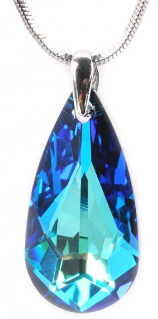 Troli Náhrdelník Drop 24 mm Bermuda Blue