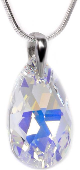 Troli Náhrdelník Pear 22 mm Crystal AB