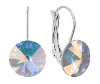 Troli Náušnice Rivoli 12 mm Crystal AB