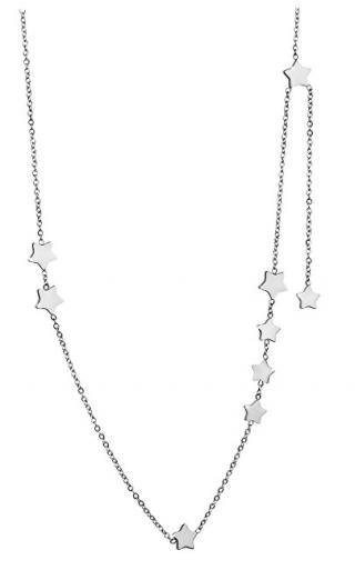 Troli Ocelový náhrdelník s hvězdičkami