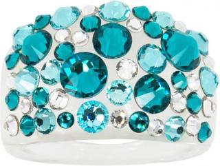 Troli Prsten Bubble Blue Zircon 56 mm