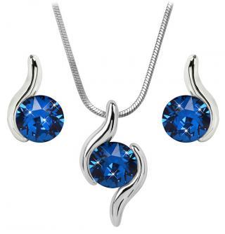 Troli Sada náhrdelníku a náušnic Chaton Wave Capri Blue dámské
