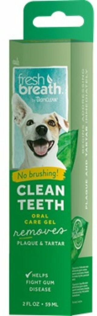 Tropiclean Fresh Breath Péče o zuby pro psy 59 ml