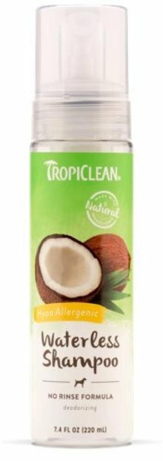 Tropiclean Hypo Allergenic Shampoo Suchý šampon pro psy 236 ml Bez oplachování