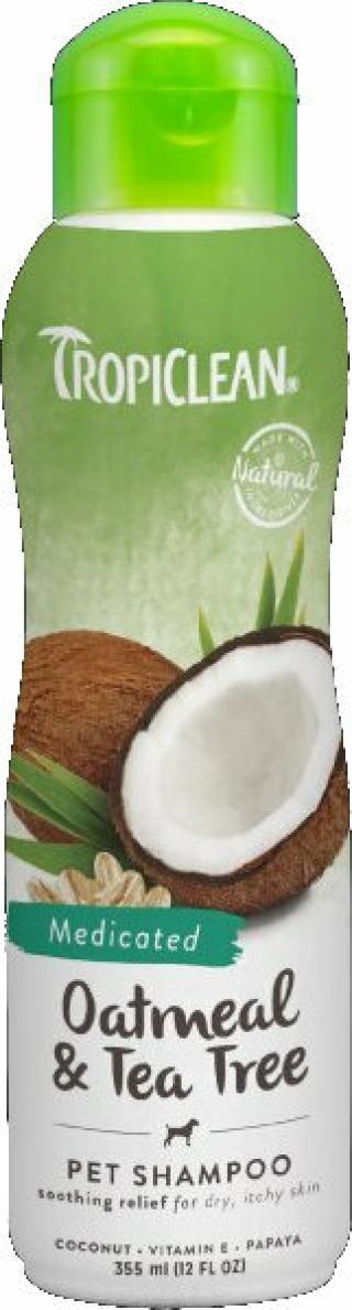 Tropiclean Medicated Shampoo Šampon pro psy 355 ml