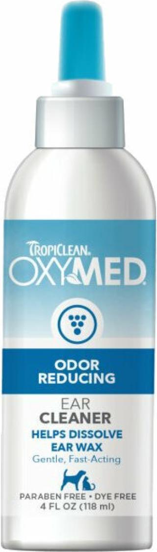Tropiclean Oxymed Péče o uši pro psy 118 ml