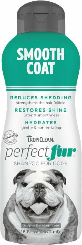 Tropiclean Perfect Fur Shampoo Šampon pro psy 473 ml Hladká srst