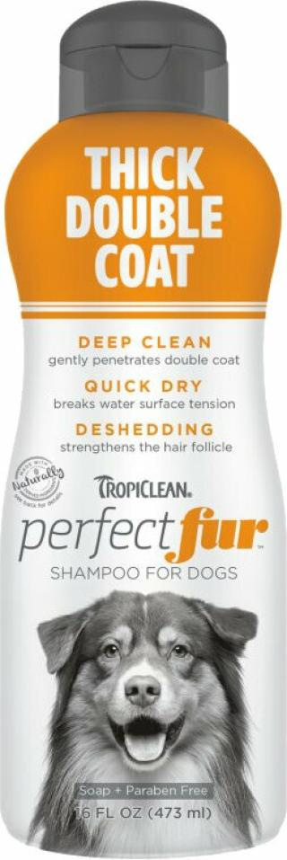 Tropiclean Perfect Fur Shampoo Šampon pro psy 473 ml Hrubá srst