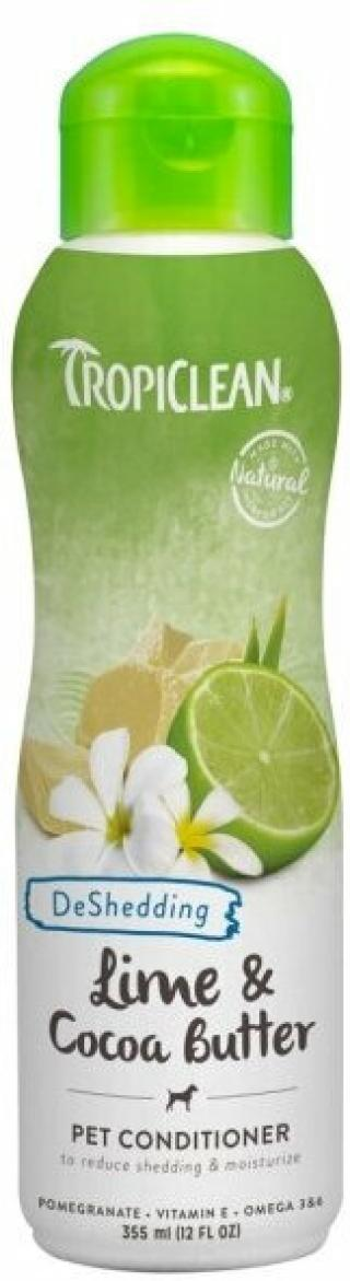Tropiclean Shed Control Conditioner Kondicionér pro psy 355 ml Kakao-Lime