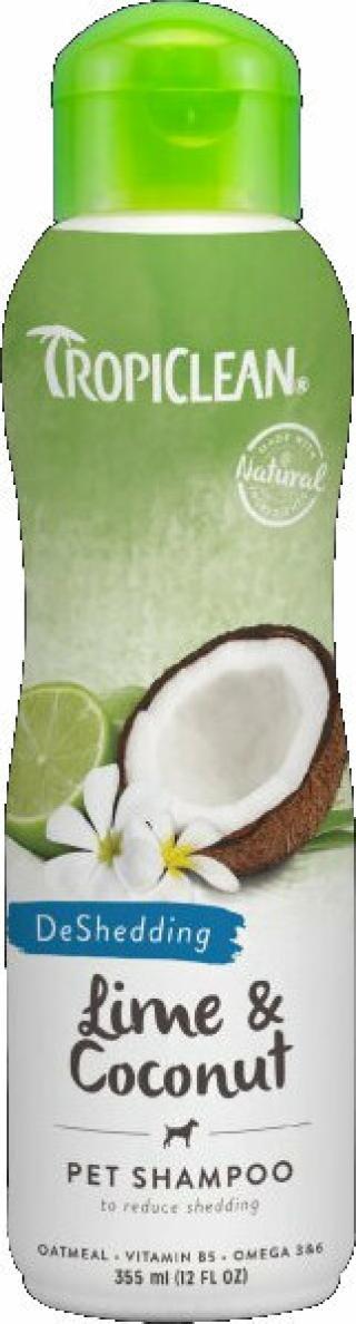 Tropiclean Shed Control Shampoo Šampon pro psy 355 ml Kokos-Lime