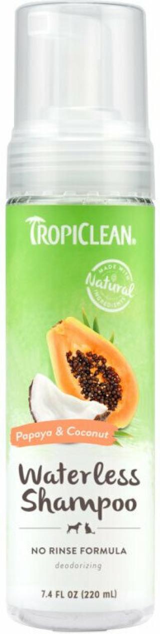 Tropiclean Waterless Shampoo Šampon pro psy 220 ml