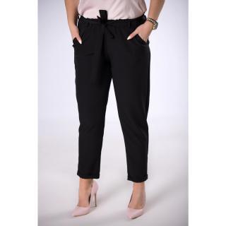 trousers with a paper bag waist dámské Neurčeno XXL