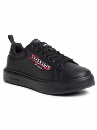 Trussardi Jeans Sneakersy 77A00279 Černá pánské 41